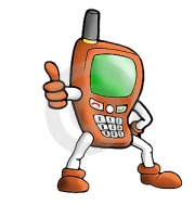 illustration-orange-handphone-thumb3575446